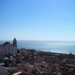リスボンの街と海と空