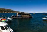 ペルーチチカカ湖