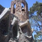 ガウディ作の教会