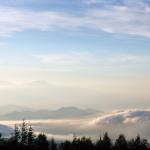 富士山からの雲海