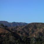 ハリウッドサインと青空