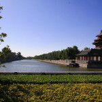 中国・故宮の外堀