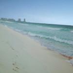 カンクンのプライベートビーチ