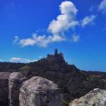 ポルトガルのペーナ宮殿と青空