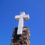 ロカ岬の石碑と青空