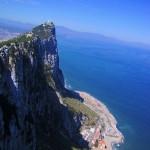 ジブラルタルの海峡を望む
