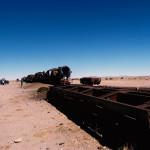 ボリビア・ウユニの廃列車