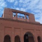 モロッコの市場の入口