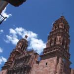 サカテカスのピンクタウン