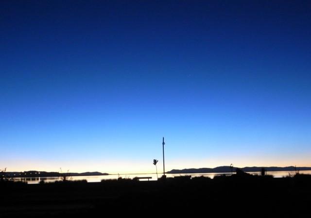 4000M級の夜明け