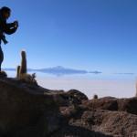 ウユニのサボテン山を制覇