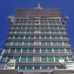 台北101ビルのてっぺん