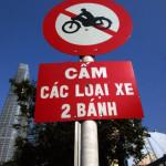 ベトナムの交通標識