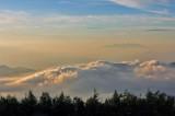 士山の雲海