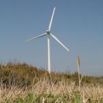 浜岡原発そばの風力発電