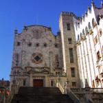 メキシコ・グアダラハラの建物と青空