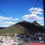 メキシコ・サカテカスのロープウェイ
