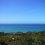 ポルトガル・ロカ岬で一面の海