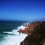 ポルトガルのロカ岬の絶壁