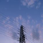 武蔵野の鉄塔