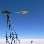 南極っぽいウユニ塩湖
