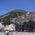 ジブラルタルの街