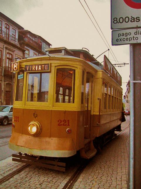ポルトガルの列車