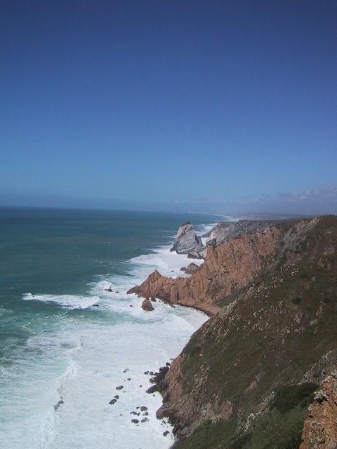 ポルトガルの海岸