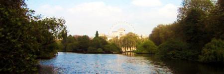 ロンドンの静かな公園