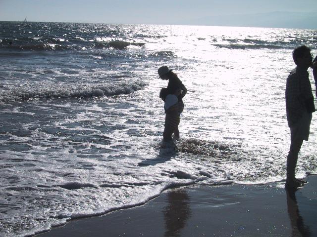 サンタモニカビーチの午後
