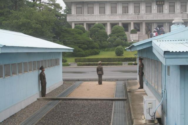 韓国ー北朝鮮の38度線