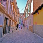 ボリビア・ラパスの街