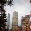 香港のビル
