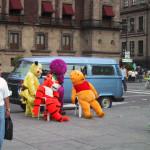 メキシコで休憩するポケモンら