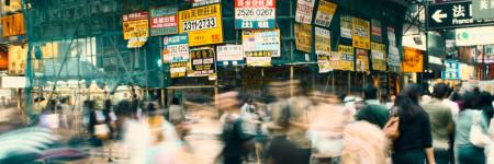 香港の交差点