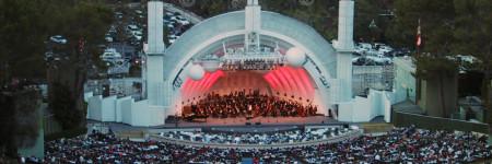 ロスの野外コンサート