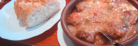 スペイン肉ボール料理